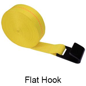 Tie Down Flat Hook